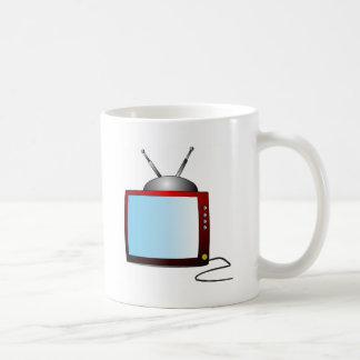 Tv Basic White Mug
