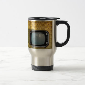 tv stainless steel travel mug