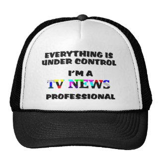 TV News Pro Trucker Hat