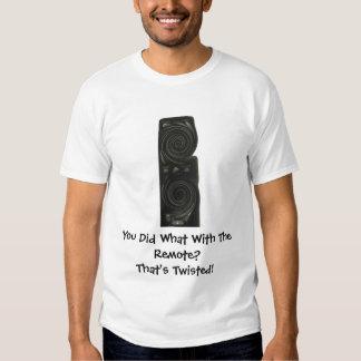 TV Remote Teeshirt Tshirt