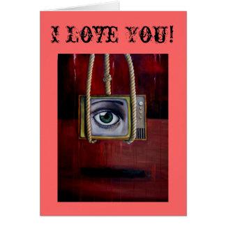Tv_Series_2_Eyewitness[1], I Love You! Greeting Card