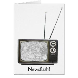 TV Set Card