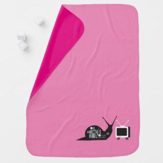 TV Snail Baby Blanket