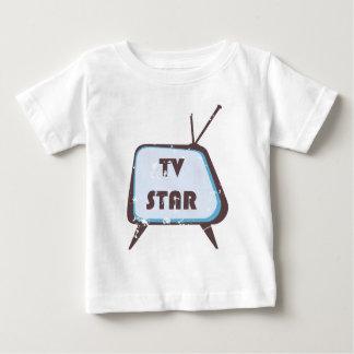 TV Star Retro television set Tshirt