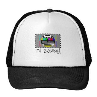 TV Sucks by Chillee WIlson Mesh Hat
