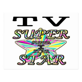 TV Superstar Postcard