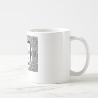 TV Test Pattern Basic White Mug