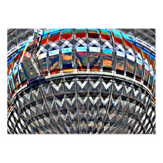 Tv Tower (Fernsehturm), Berlin,Colour (tv12emb) Large Business Cards (Pack Of 100)