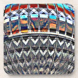 Tv Tower (Fernsehturm), Berlin,Colour (tv12emb) Coaster