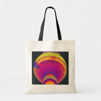 Tv Tower (Fernsehturm), Berlin, Rainbow Colour (tv Canvas Bags