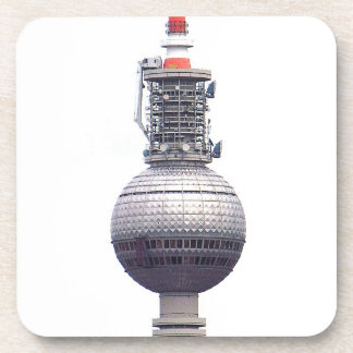 Tv Tower (Fernsehturm), Berlin,Red (tv14) Drink Coaster