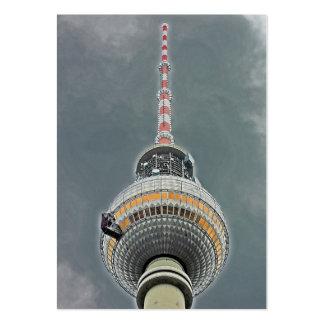 Tv Tower (Fernsehturm), Berlin (tv2) Pack Of Chubby Business Cards
