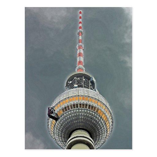 Tv Tower (Fernsehturm), Berlin (tv2) Post Card