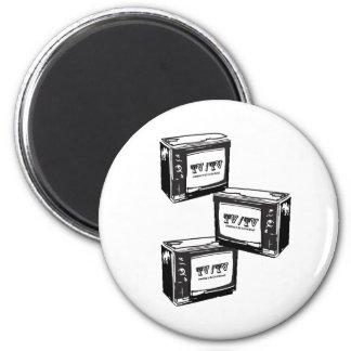 Tv / Tv 6 Cm Round Magnet