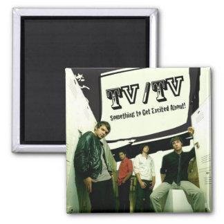 TV/TV SQUARE MAGNET