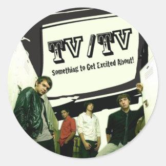 TV TV STICKER