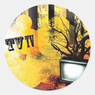 TV TV STICKERS