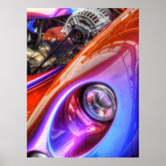 TVR Cerbera HDR Poster