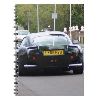 TVR Sagaris Notebook