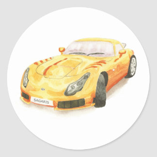 TVR Sagaris sticker
