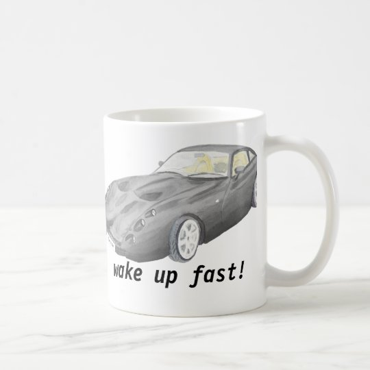 TVR Tuscan car mug, wake up fast Coffee Mug