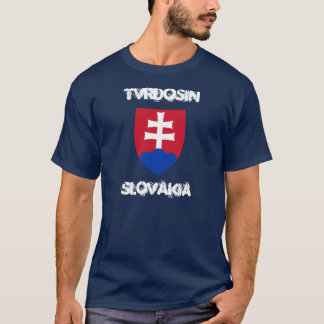 Tvrdosin, Slovakia with coat of arms T-Shirt