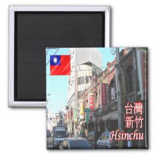 TW - Taiwan Formosa - Hsinchu Magnet