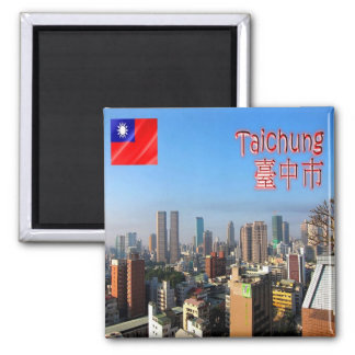 TW - Taiwan Formosa - Taichung City Magnet