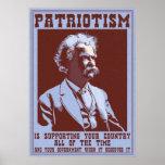 Twain -Patriotism Print