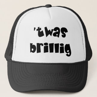 Twas brillig trucker hat