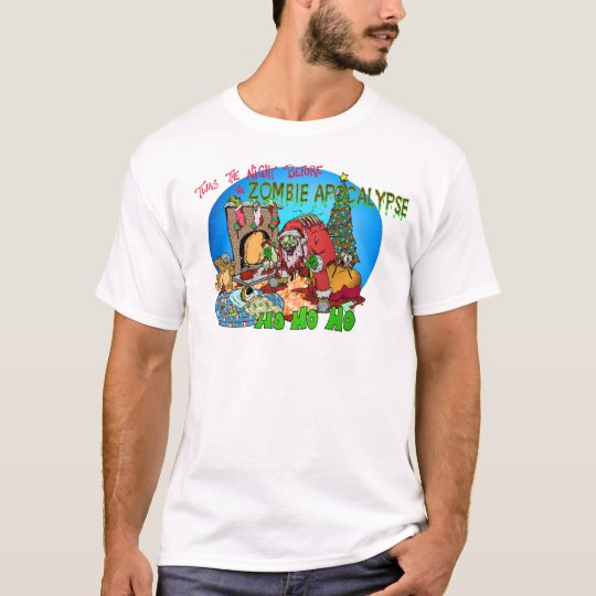 Twas the Night Before the Zombies T-Shirt
