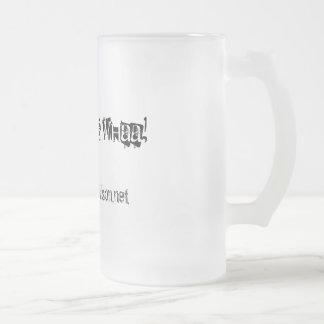 Twee Twee Whaa!, www.jeremyDwilson.net Frosted Glass Mug