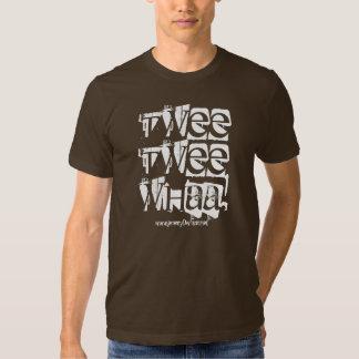 Twee Twee Whaa!, www.jeremyDwilson.net T-shirt