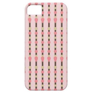 Tweed herringbone preppy preppies pink pattern iPhone 5 cover
