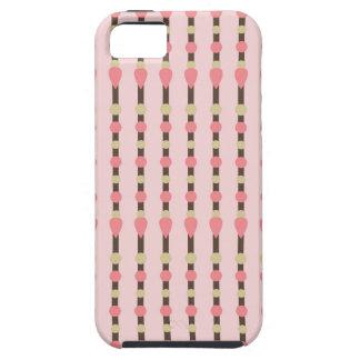Tweed herringbone preppy preppies pink pattern tough iPhone 5 case