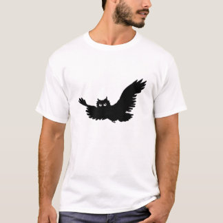 Tweed Owl Silhouette T-Shirt