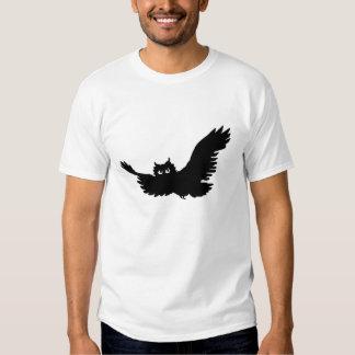 Tweed Owl Silhouette Tshirts