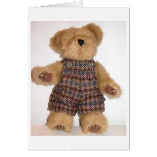 Tweedie Teddy Greeting Card