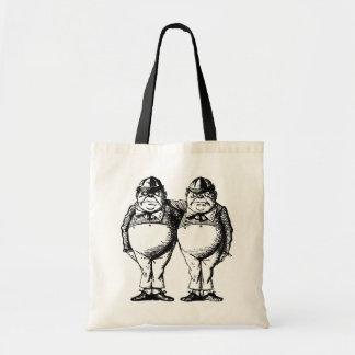 Tweedle Dee and Tweedle Dum Budget Tote Bag