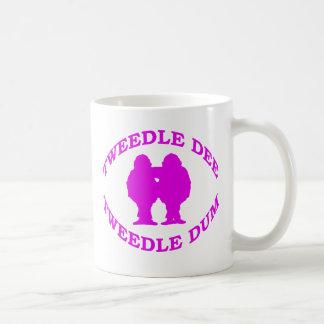 Tweedle Dee & Tweedle Dum Coffee Mug