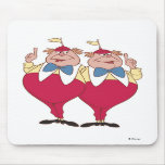 Tweedle Dum and Dee Disney Mouse Pad