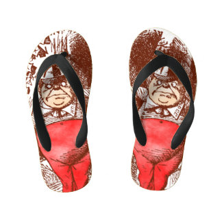 Tweedledee and Tweedledum Kid's Flip Flops