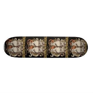 Tweedledum & Tweedledee Carnivale Style Gold Ver. 19.7 Cm Skateboard Deck