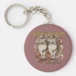 Tweedledum & Tweedledee Carnivale Style Gold Ver. Key Chains