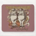 Tweedledum & Tweedledee Carnivale Style Gold Ver. Mousepads