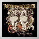 Tweedledum & Tweedledee Carnivale Style Gold Ver. Poster