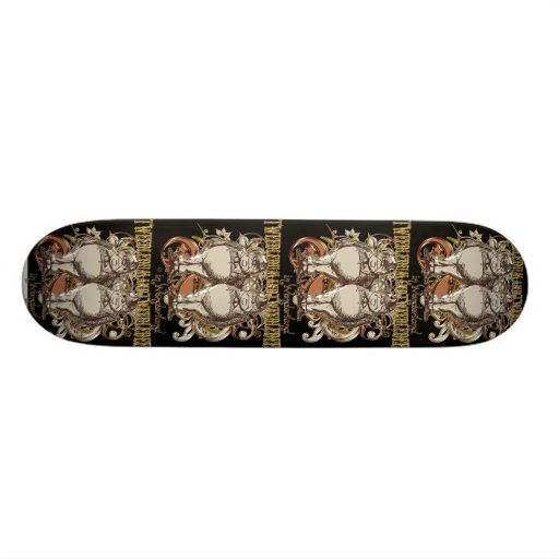 Tweedledum & Tweedledee Carnivale Style Gold Ver. Skate Decks