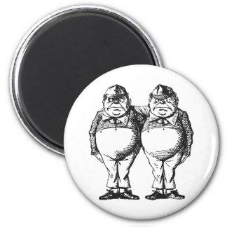 Tweedledum & Tweedledee Magnet