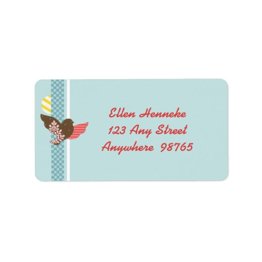 Tweedlee Dee Address Label