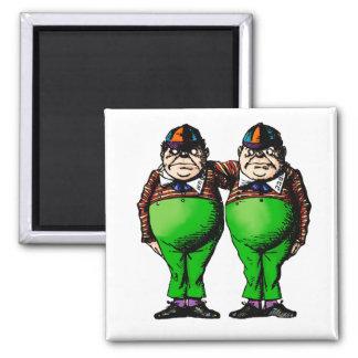 Tweedles Dum & Dee Magnet